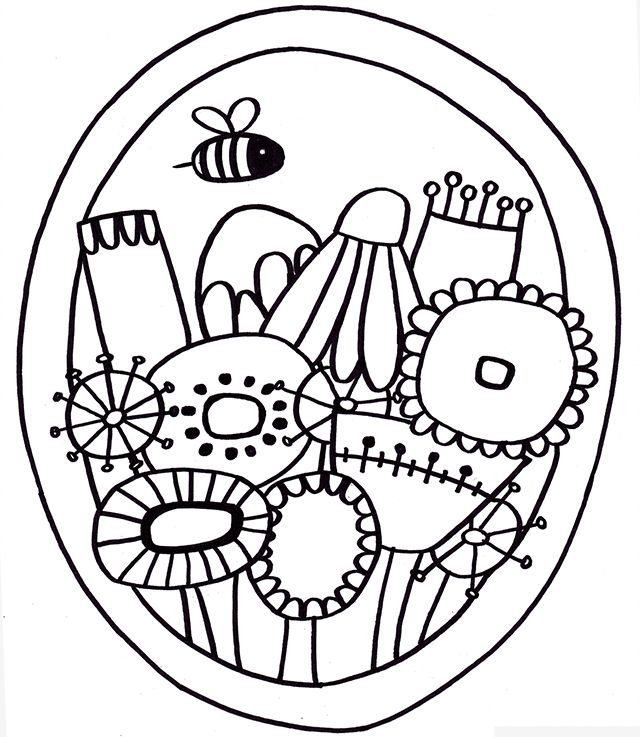 Free Coloring Pages For Grown Ups