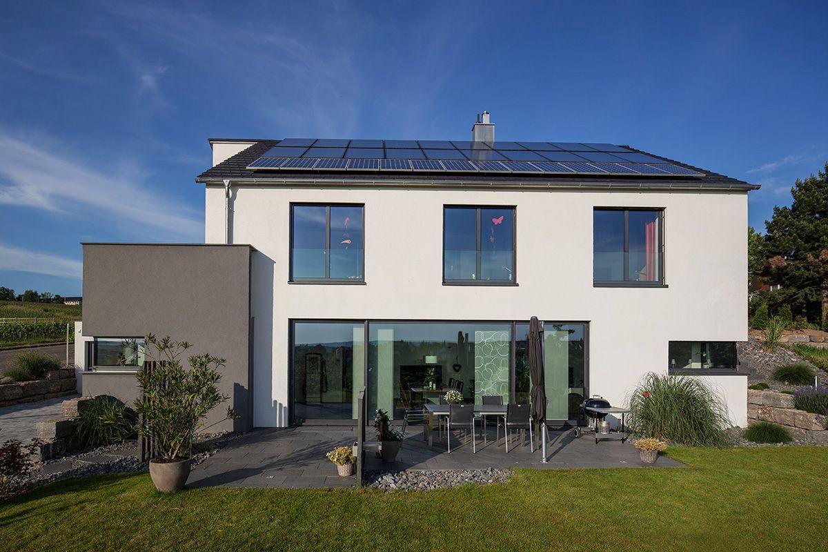 Moderne häuser versetztes satteldach  Haus Rademacher 1 | Häuser | Pinterest | Grundrisse, Häuschen und ...