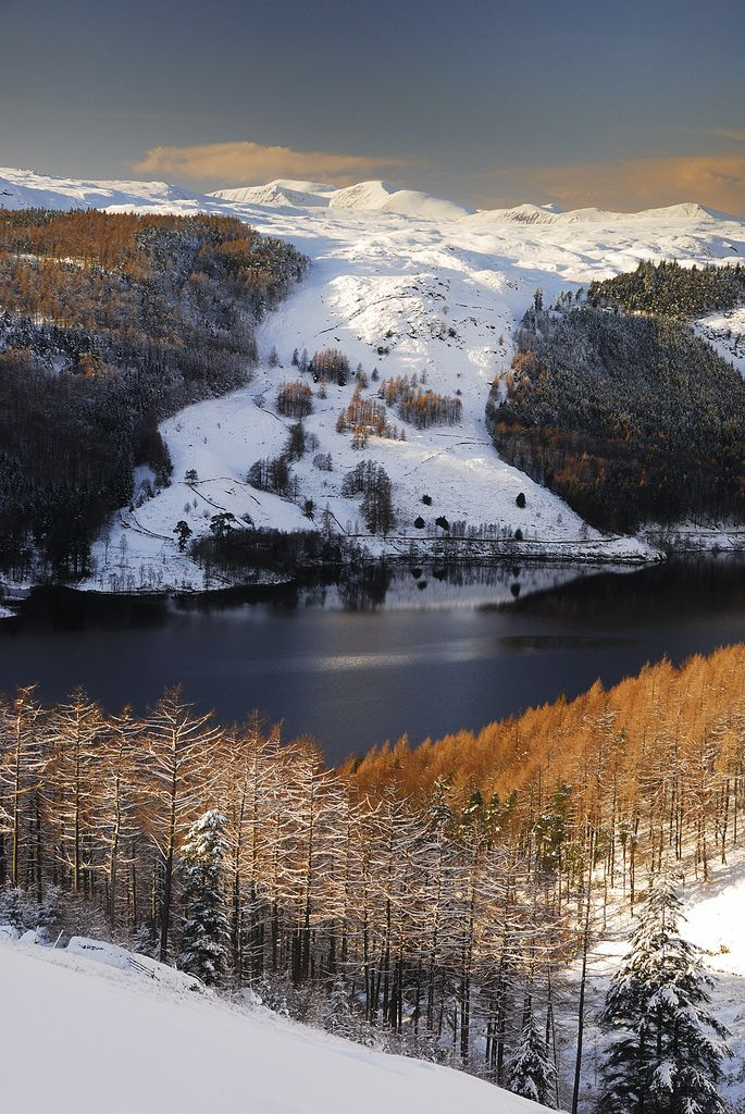 Thirlmere From Helvellyn In 2020 Winter Scenery Beautiful Landscapes Landscape