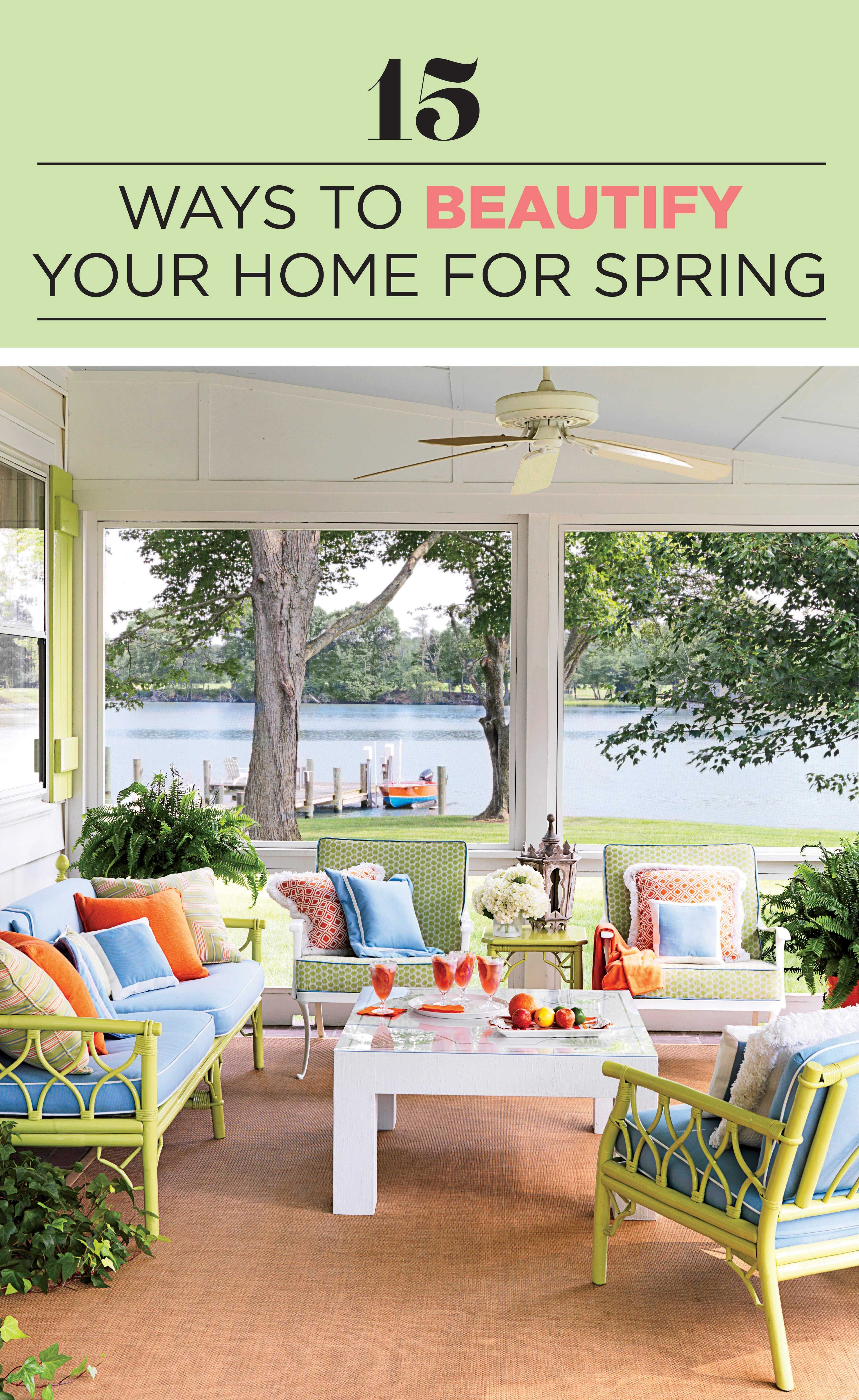 Steal Our Tips To Add A Touch Of Spring To