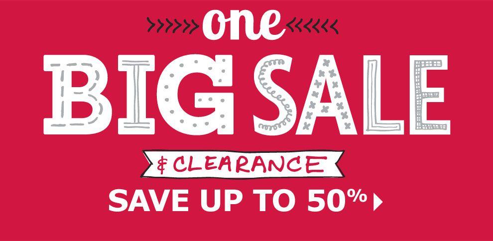 One Big Sale & Clearance