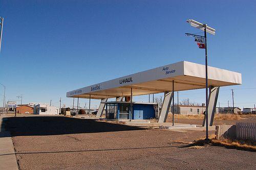 Uhaul gas station