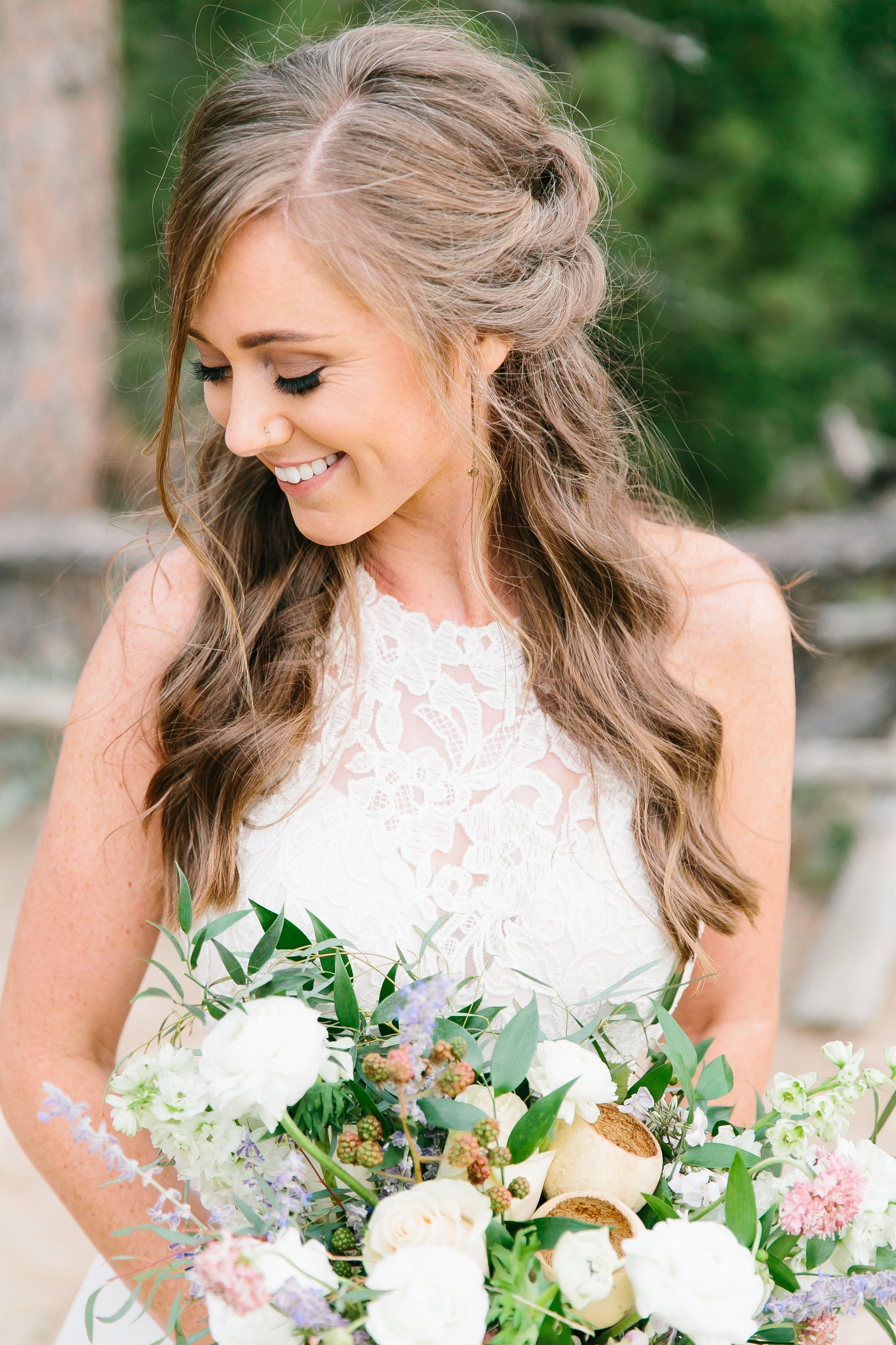 colorado elopement hair and makeup. wedding hair and makeup