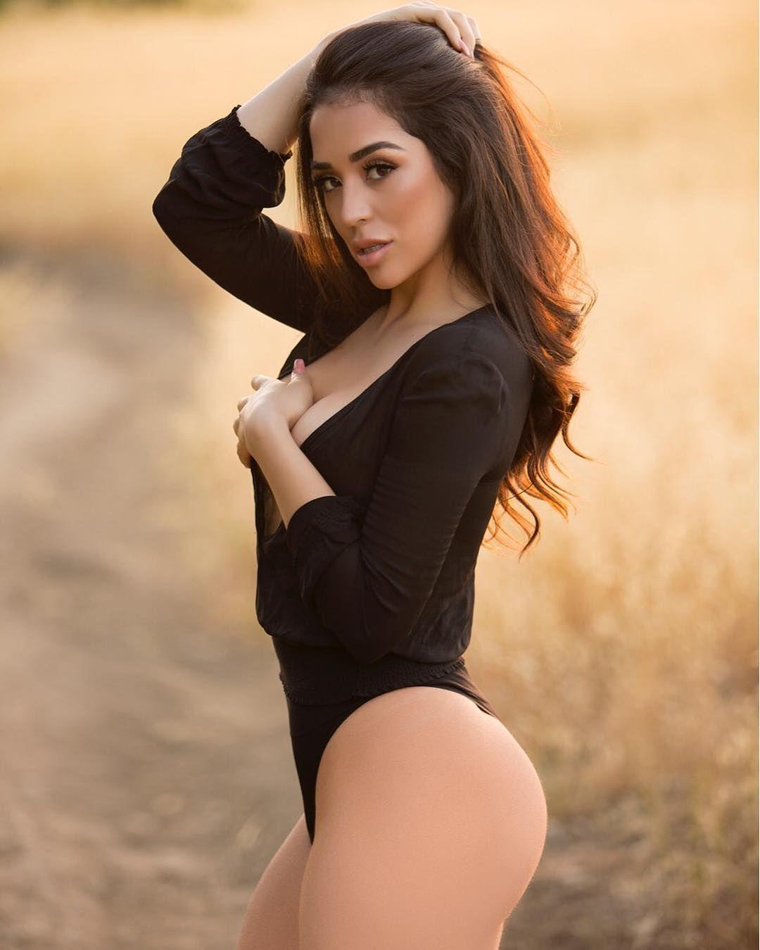 Jacky Romero F0 9f 8c B9 Gorgeous Latina Model On Instagram Iamjaqueline In Sensual Black Bodysuit At Malibu California United States Of America