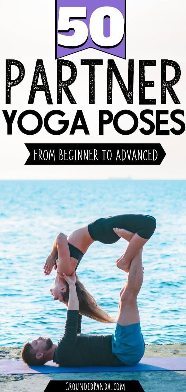 50 Partner Yoga Poses for Friends or Couples -   - #Asana #AshtangaYoga #couples #friends #IyengarYoga #MenYoga #Namaste #partner #PartnerYoga #poses #YinYoga #Yoga #YogaGirls #YogaLifestyle #YogaPoses #YogaVideos