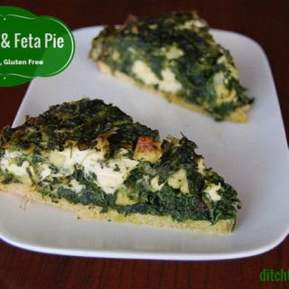 LCHF Spinach And Feta Pie