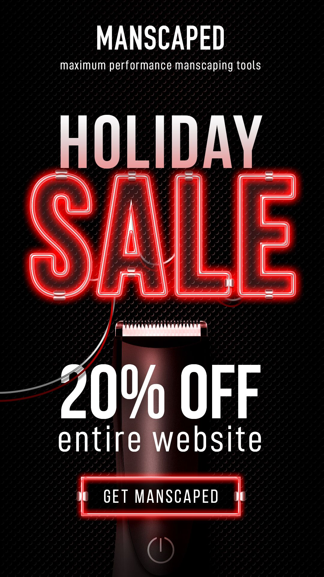 Manscaped 20 Off Holiday Sale Get The Deal Of The Year