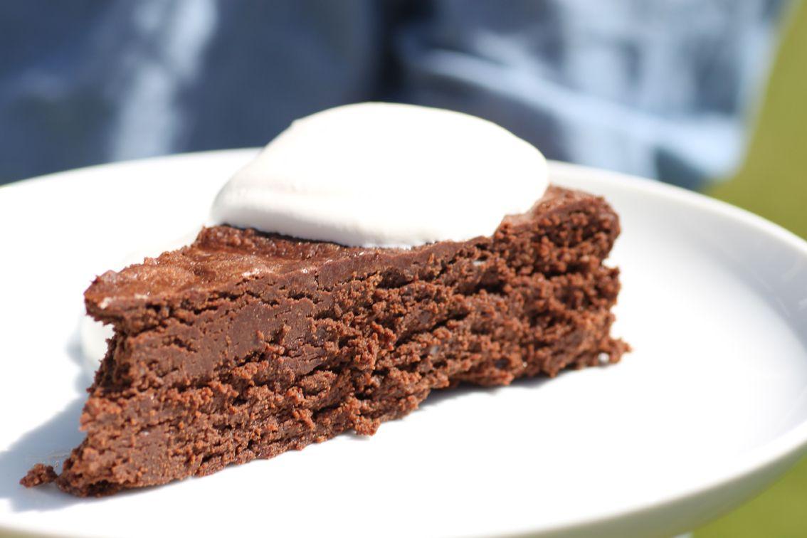chokladkaka utan mjöl