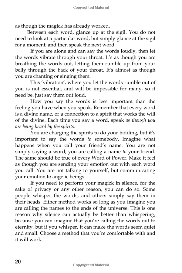 The Greater Words Of Power: The Secret Calls Of Archangel Magick Download