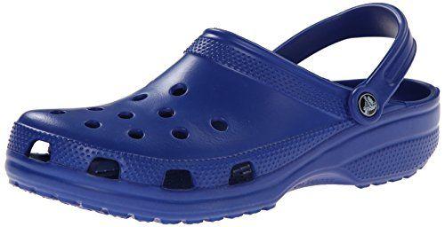 Baya Lined, Unisex Adulto Zueco, Azul (Cerulean Blue/Black), 45-46 EU Crocs