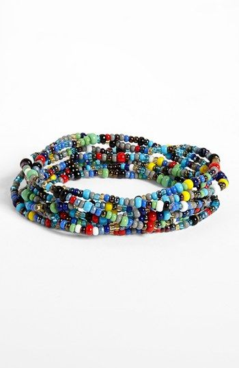 Me To We Colourful bead rafiki bracelet MlTXB
