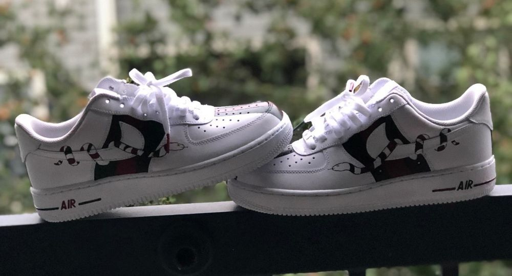 50baff65946e nike air force ones custom  fashion  clothing  shoes  accessories   mensshoes  athleticshoes (ebay link)