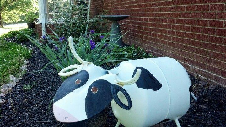 Propane Tank Art Craft Ideas Pinterest Creative Cow In Welding Garden Art Cow Propane Tank Art Scrap Metal Art Metal Art