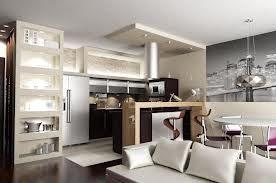Aranżacja Wnętrz Kuchnia Z Salonem Wnętrza Home Decor