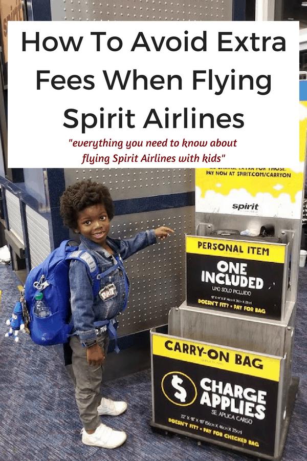 Avoid Extra Fees When Flying Spirit Airlines Spirit