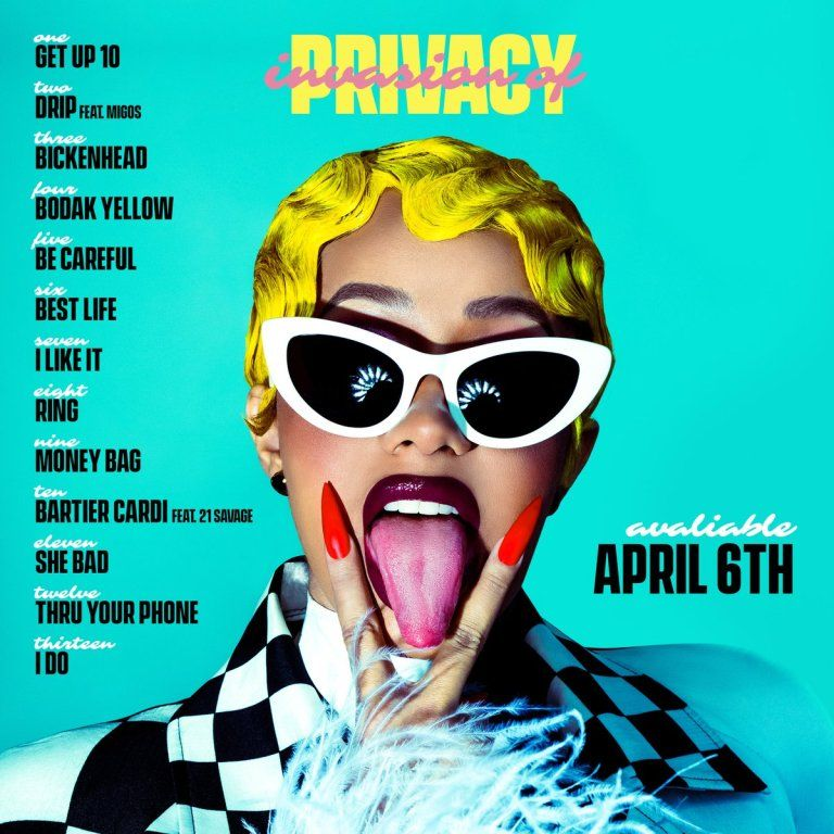 a87f5e5669 Download Invasion of Privacy by Cardi B Zip | Albums | Cardi b album ...