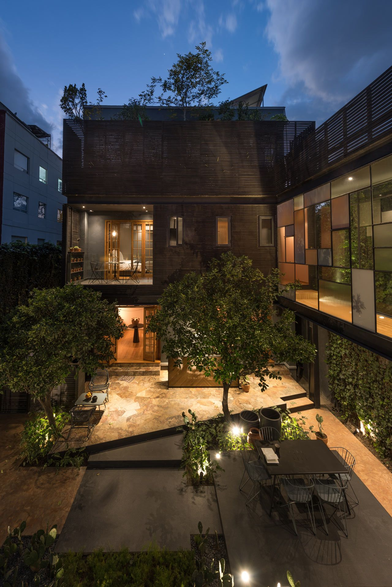 A 1913 Mexico City Mansion Renovation + a Modern Guest