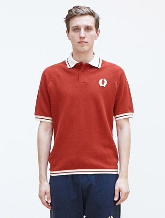 ce5e83415f16 1950s-inspired Fred Perry x Nigel Cabourn collection