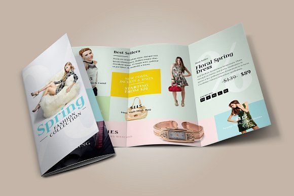 Fashion TriFold Brochure By Floringheorghe On Creativemarket