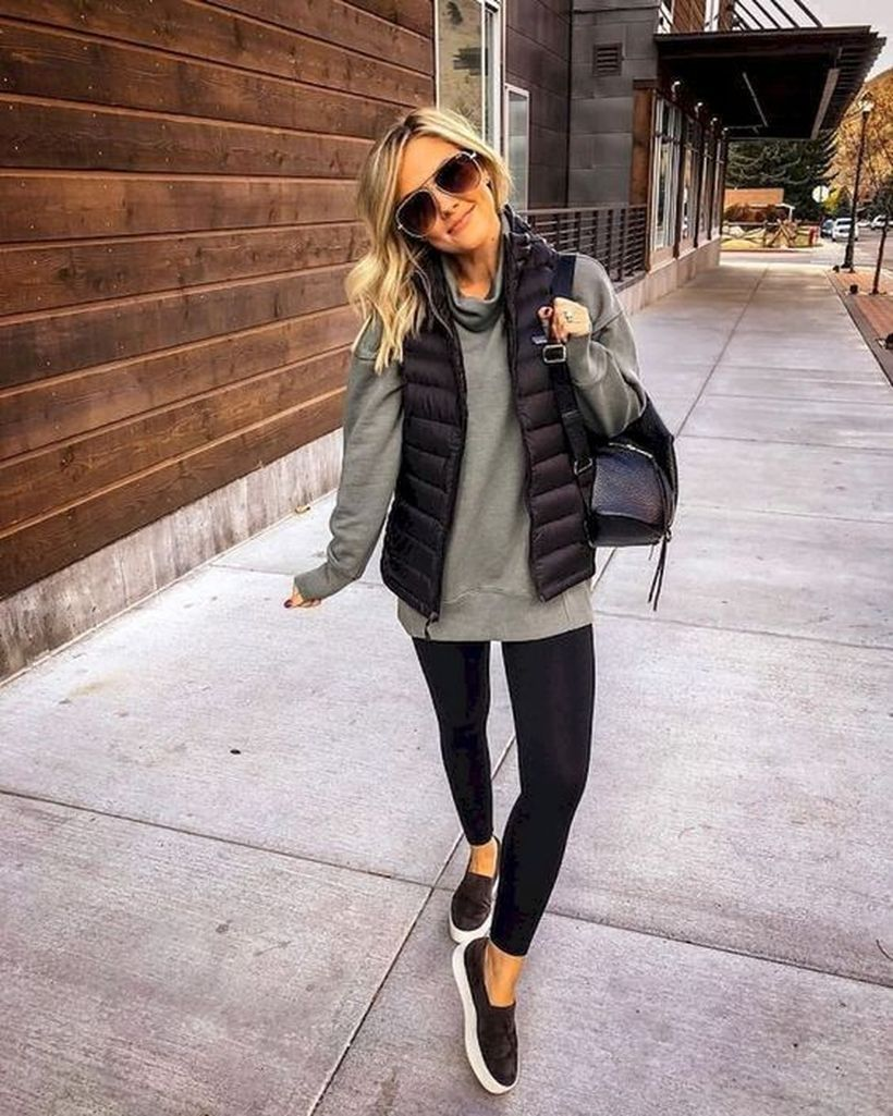 44 Comfy Fall Outfits Style On The Street #casualfalloutfits