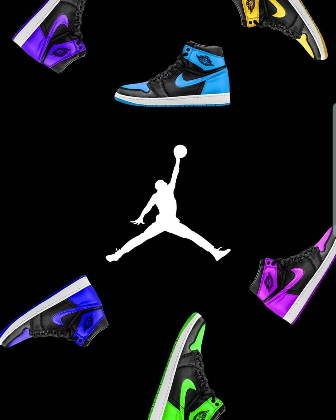 Colorfull Aj1 Amoled Wallpaper Colorfull Aj1 Amoled Wallpaper Download Our App For More Unique Wallpapers Android Onl Sneaker Head Unique Wallpaper Shoes