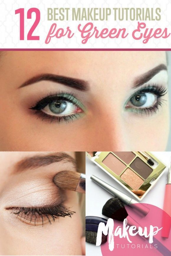 12 Best Makeup Tutorials for Green Eyes | Easy Step by Step Eyeshadow by Makeup Tutorials http://makeuptutorials.com/12-best-makeup-tutorials-for-green-eyes/