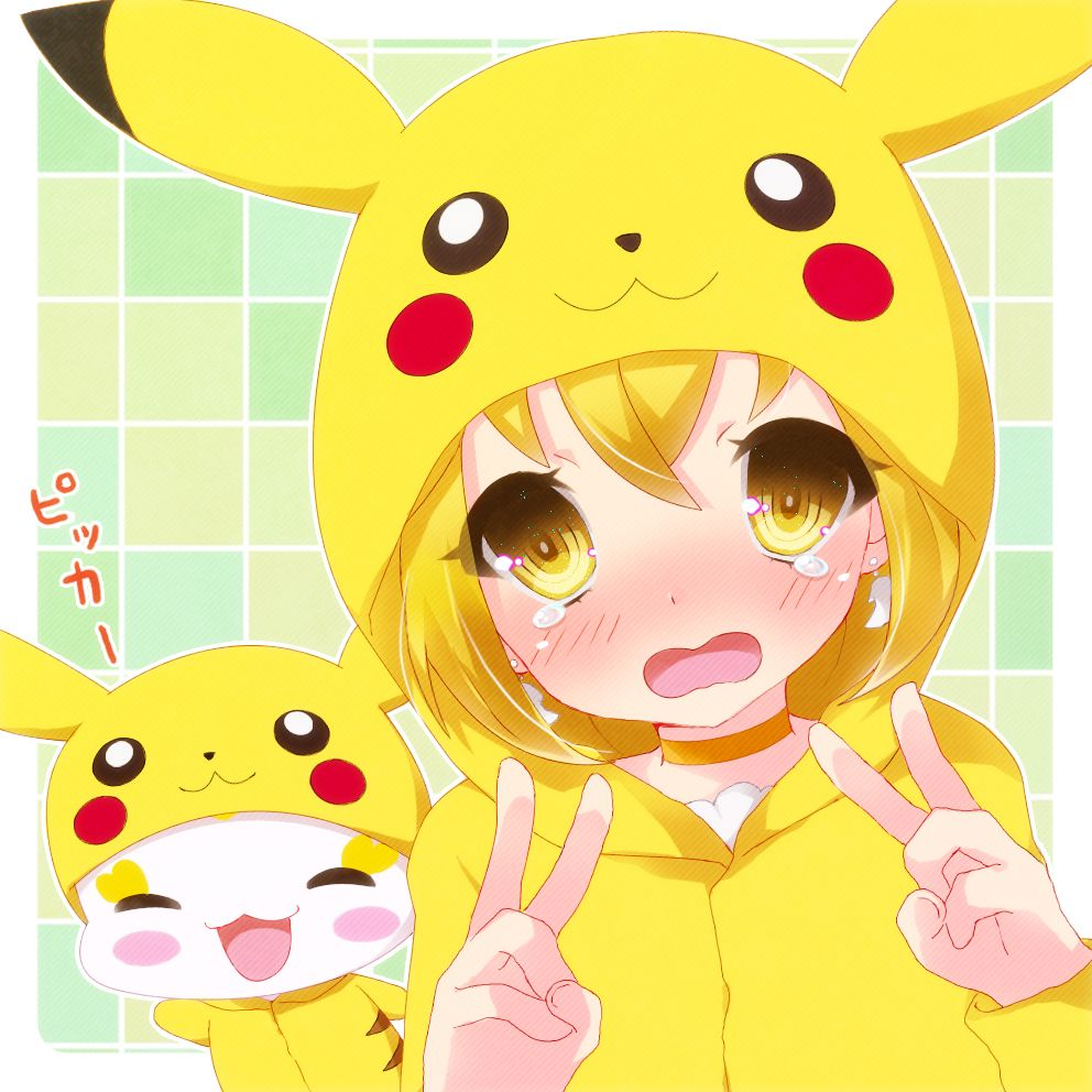 When a anime character dresses like Pikachu it's just a