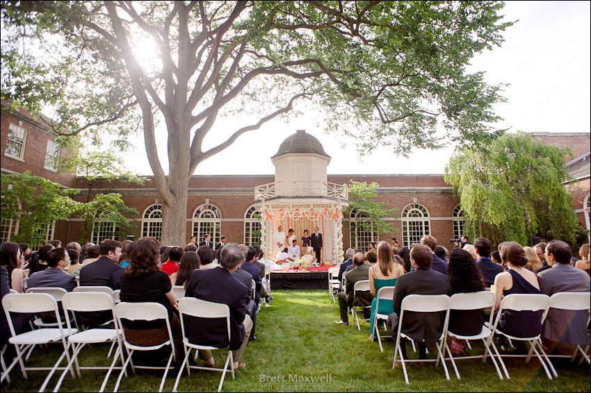 Beautiful Day For A Wedding Within The Henry Fords Pennsylvania Courtyard