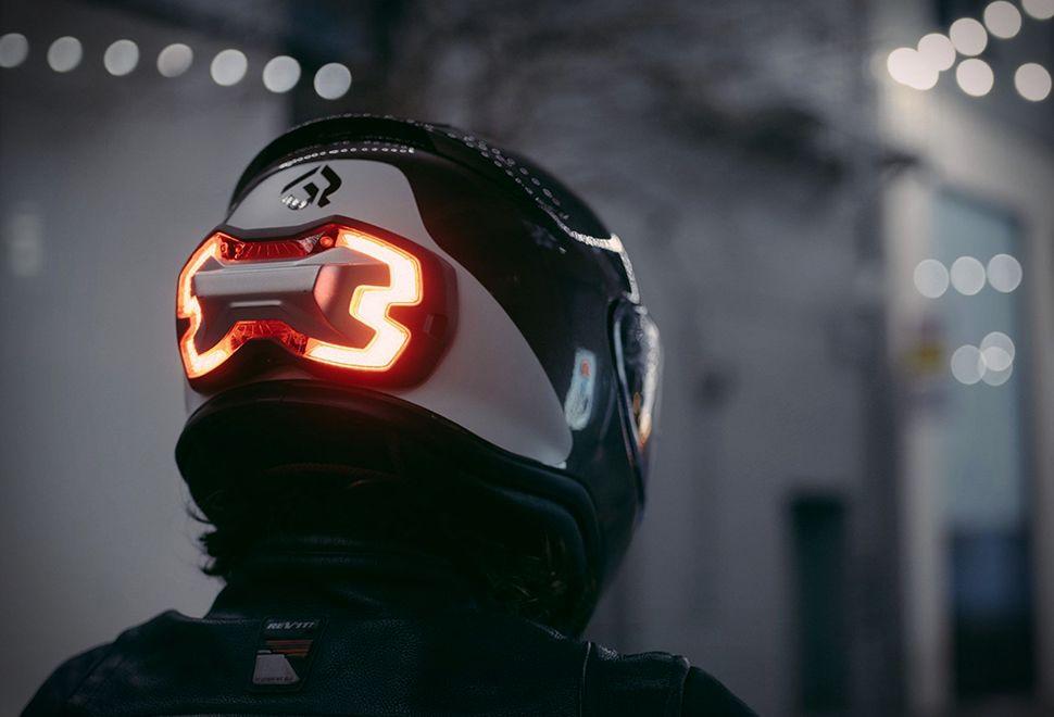 Helmet Brake Light Motorbike Helmet