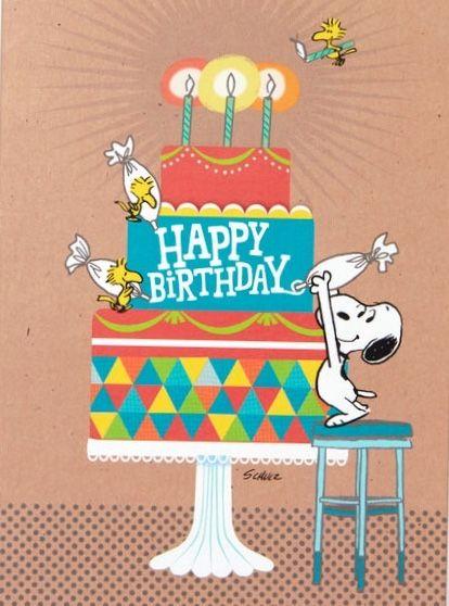 Snoopy Bild Von Susi Englisch Snoopy Geburtstag Geburtstagsbuch