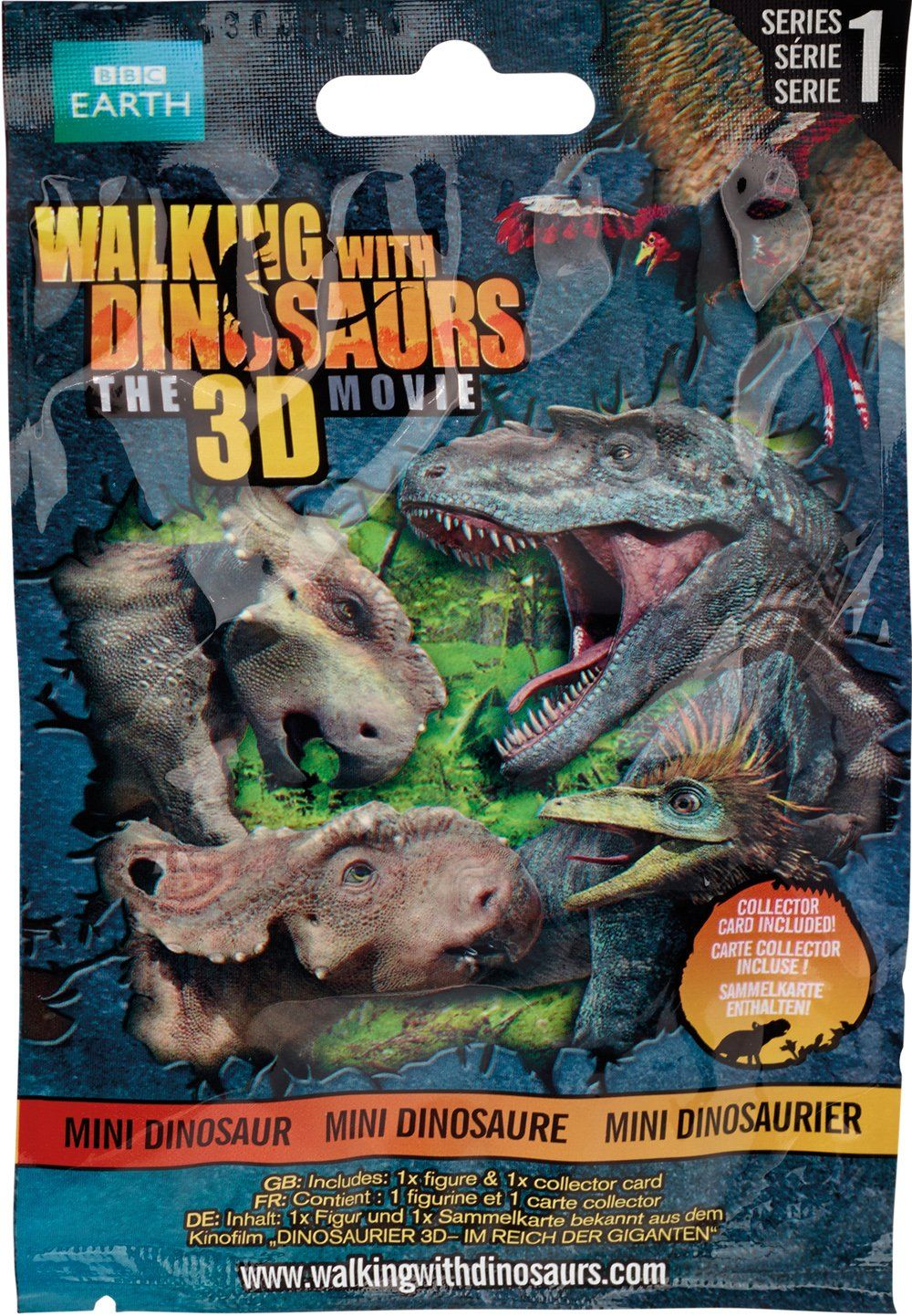 Walking with Dinosaurs - this is the movie, not the scary tv series!