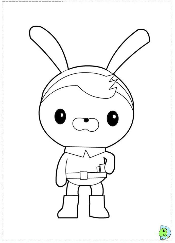 Vistoso Octonautas Para Colorear Disney Elaboración - Dibujos de ...