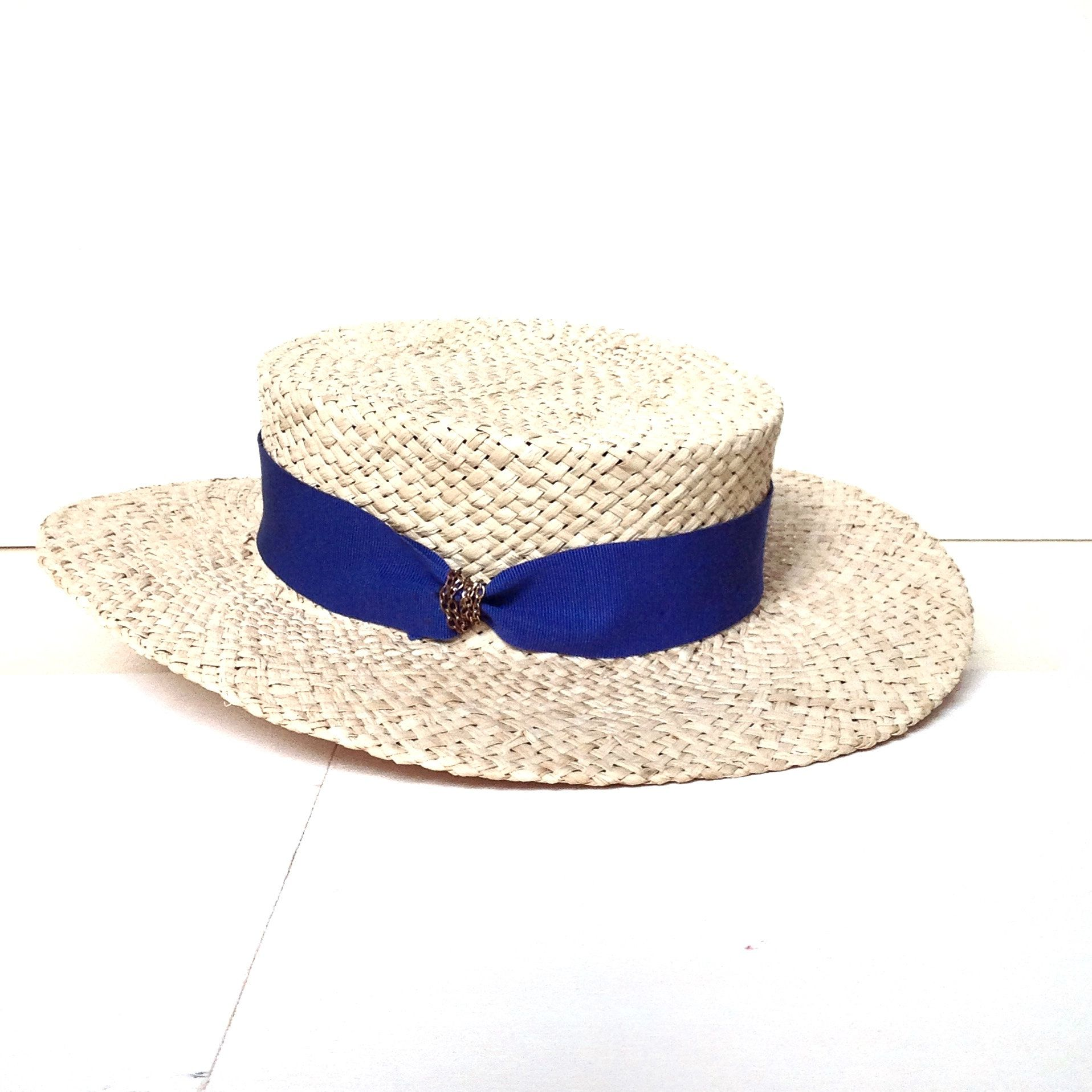 Romantic summer boater hat for woman in 2018  ac36168b7dd8
