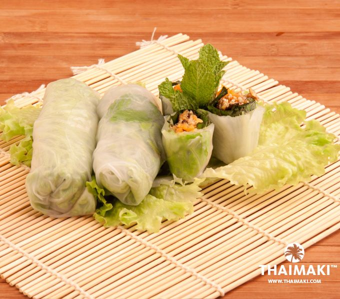 Rouleaux Keuken Rouleaux D'été Via @_thaimaki #thai #food #recipe | Thai