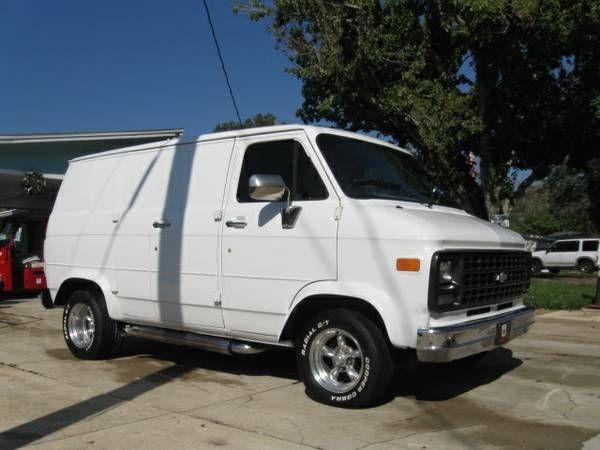 1995 Chevy Van G 20 Gmc Vans Chevrolet Van Custom Vans