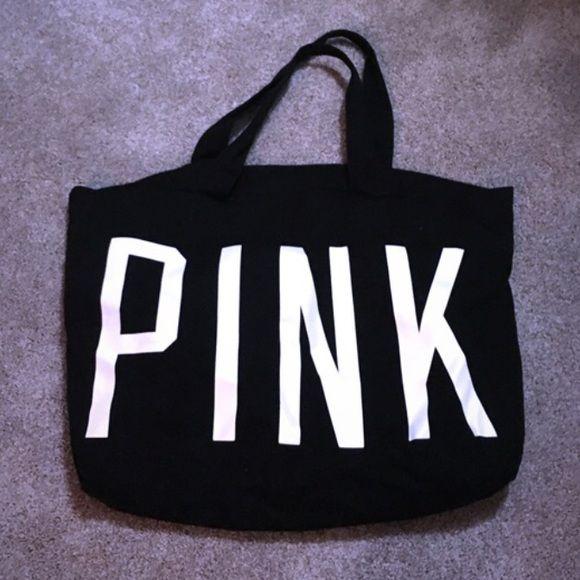 Victoria's Secret PINK large travel tote never used, large size PINK Victoria's Secret Bags