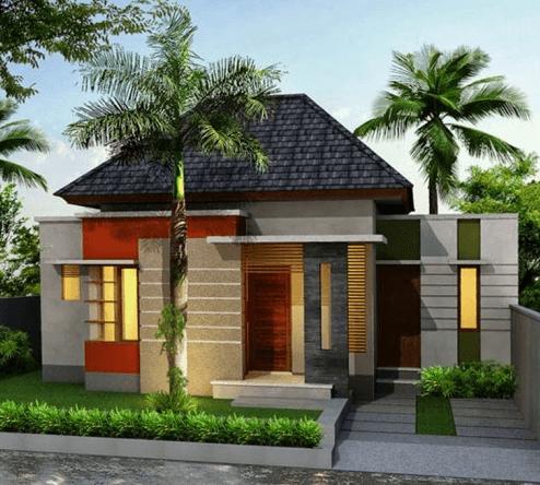 Contoh Rumah Minimalis Modern Type 36 45 70 Terbaru House Design