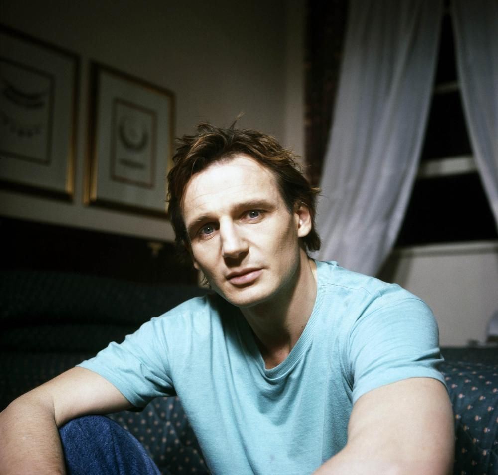 Liam Neeson. Ballymena's big in our house. | Liam neeson, Irish actors, Irish men