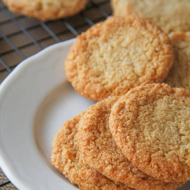 Chewy Almond Cookies Recipe | Yummly