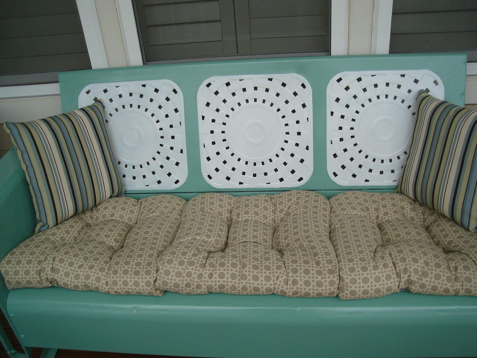 Vintage Metal Glider Gliders Here Outdoor Patio Furniture To See What