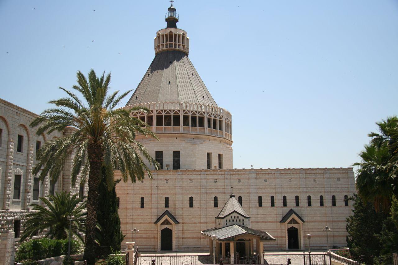 Nazareth Basilica of the annunciation, Modern catholic