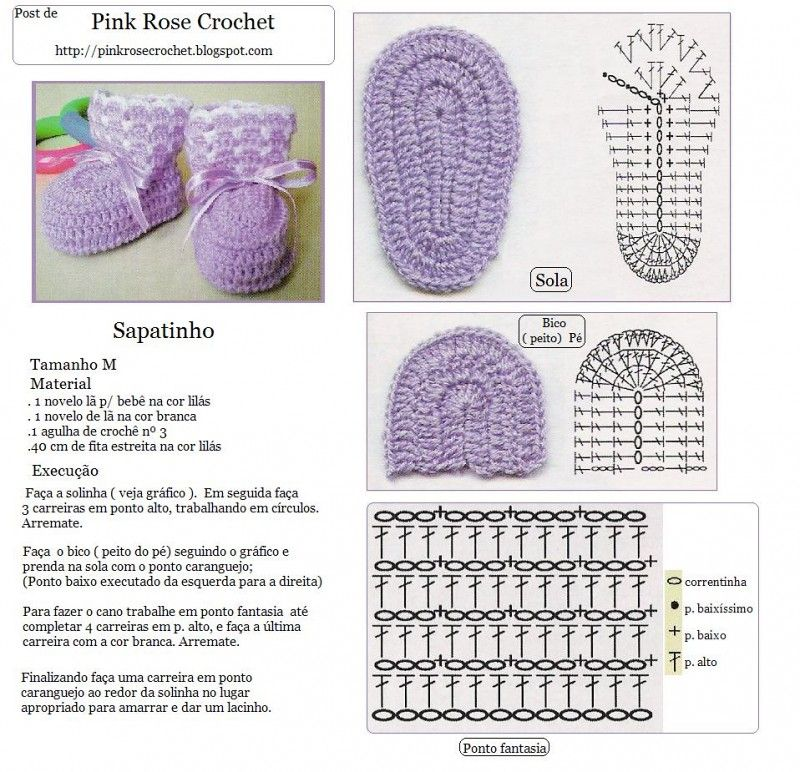 Crochet baby shoes | crochet | Pinterest | Bebe, Zapatos y Tejido