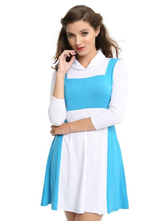 2b2b8fc2e01 Disney Beauty And The Beast Belle Peasant Dress in 2019