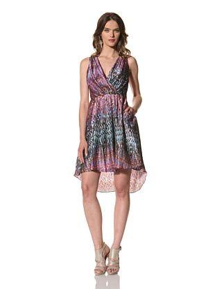 Cynthia Rowley Women S Printed Silk Dancing Dress Multi