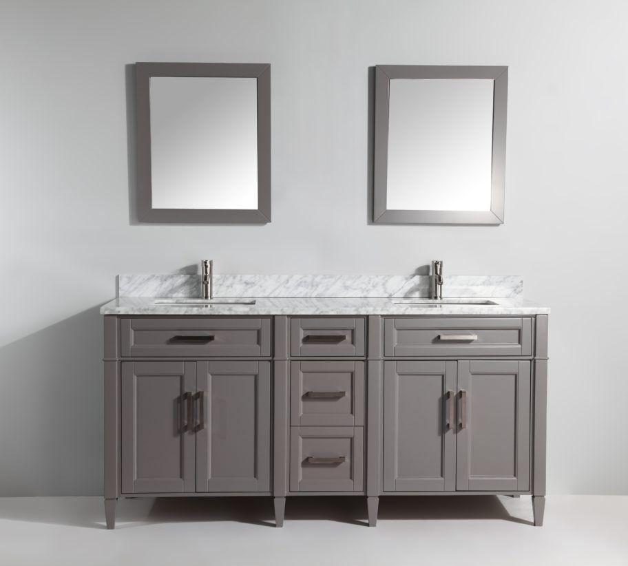Va2072dg Bathroom Sink Vanity Vanity Set With Mirror 72 Inch Bathroom Vanity