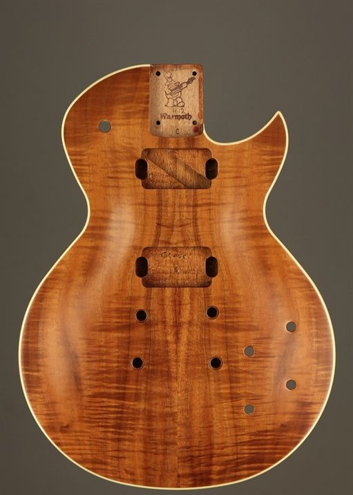 Guitar Body Wood Carving   Wooden Thing