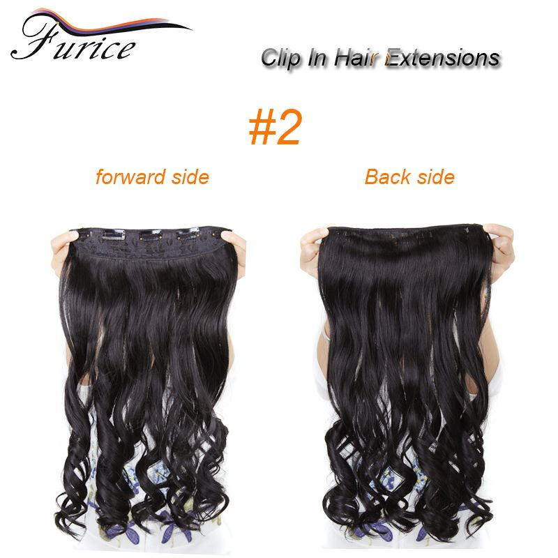 255 Inch Great Lengths Curly Clip In Long Curly Synthetic Hair