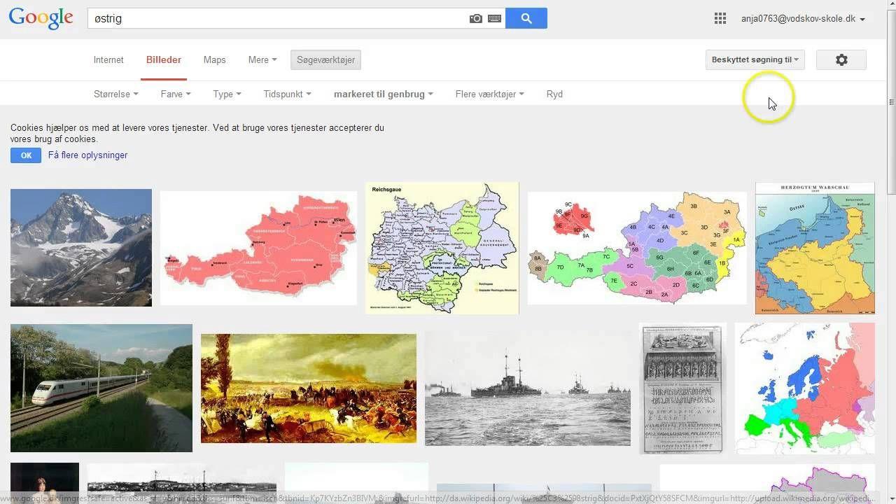 Avanceret Sogning I Google Mappe Billeder Accept