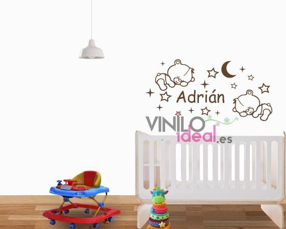 vinilo infantil vinilo decorativo ositos bebes pared vinilos infantiles