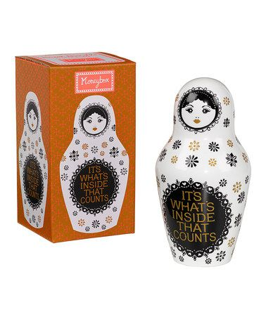 'It's What's Inside That Counts' Matryoshka Doll Money Back